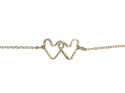 Infinity Hearts Bracelet