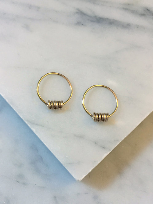 Tiny Spiral Hoops