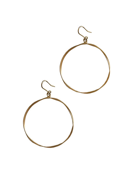 Twisted Hoops 1.5""