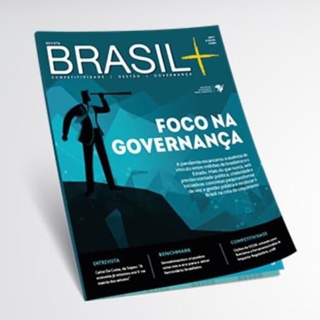 Revista Brasil+ publica perfil de José Eduardo Sabo Paes