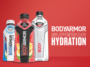 BodyArmor the superdrink for athletes