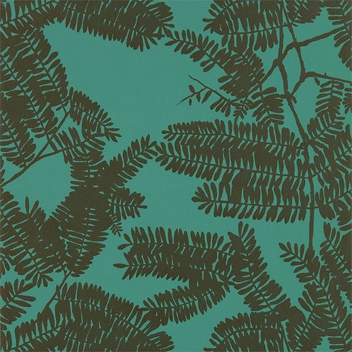Harlequin Extravagance Wallpaper - Emerald 111719