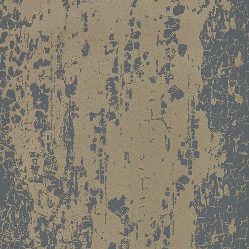 Harlequin Eglomise Wallpaper - Shadow/Champagne 111746