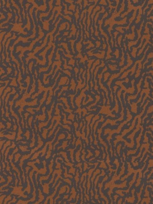 Harlequin Seduire Wallpaper - Ebony/Copper 111733