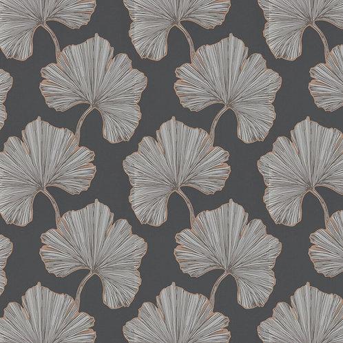 Harlequin Azurea Wallpaper - Ebony/Rose Gold 111713