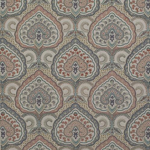 James Hare Fitzrovia Fabric - Blue Multi  - 31649/03