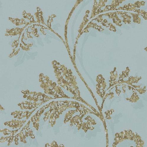 Harlequin Lucero Wallpaper - Topaz/Gilver 111726