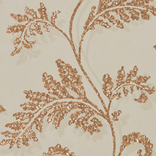Harlequin Lucero Wallpaper - Mink/Rose Gold 111724
