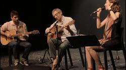 With Timna and Juan Falú