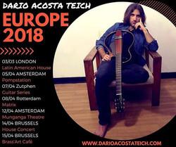 European tour 2018