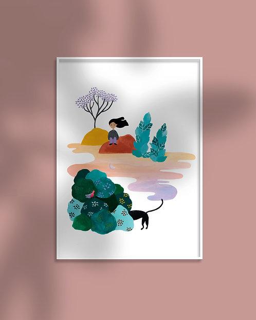 'Somewhere Far Away' Art Print