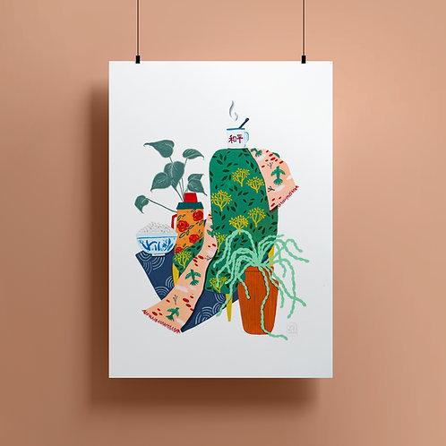 'Peace Of Rice' Giclee Print