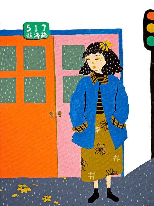 'Idle Days #3' Original Illustration
