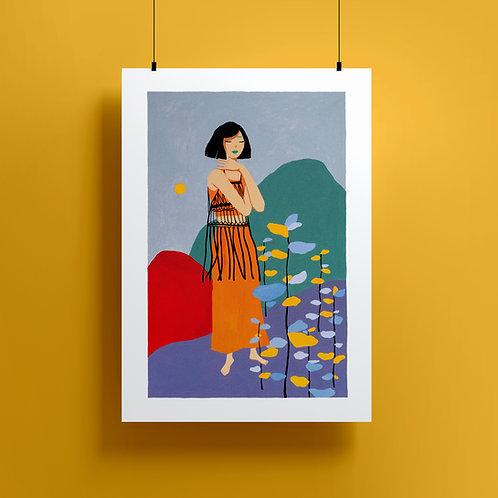 'Hug Me' Giclee Print