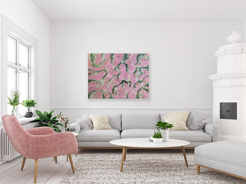 MARVELOUSLY PINK (Custom Painting)