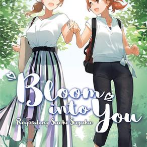Bloom Into You (Light Novel): Regarding Saeki Sayaka Vol. 3 Has Been Released