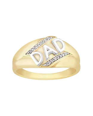 dad rings-gold rings for dads-fathers da