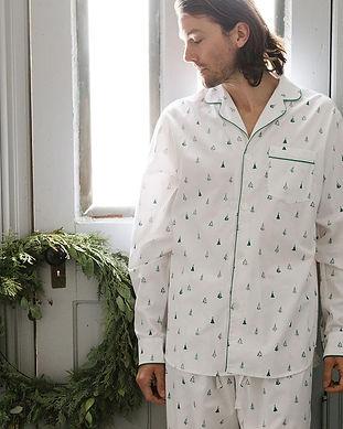 matching family pjs-men matching pajamas