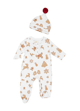 mommy and baby matching pjs-mommy and me