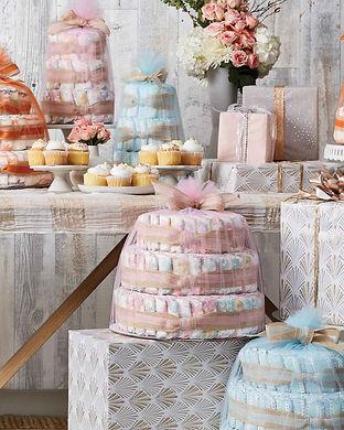 best diaper cakes designs-honest company