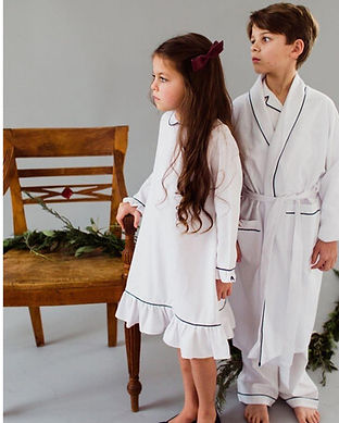 baby girl nightgown-white matching daddy