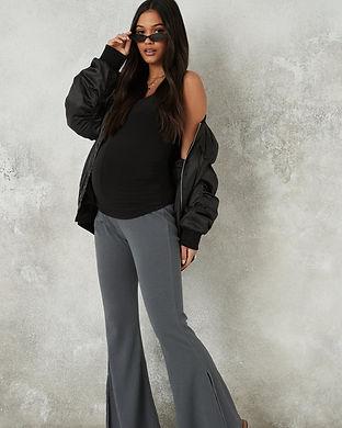 Maternity bell bottoms pants-maternity f