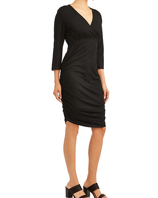 black nursing dress-not pregnant-postpar