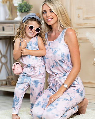 matching mommy and me tie dye outfits-mo