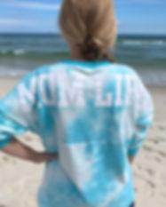 tie-dye nursing shirt-nursing top-stylis