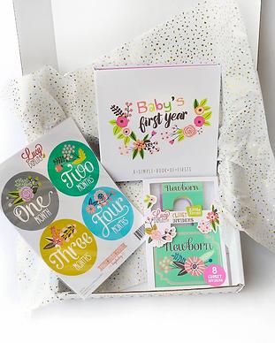 new mom gift sets-baby memeory box-baby