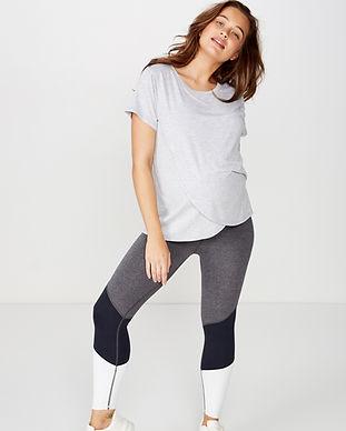 Maternity soft yoga pants-maternity acti
