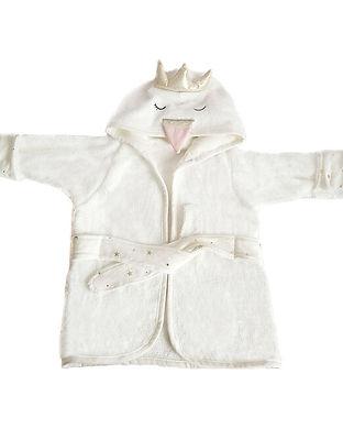 swan bathrobe for babys-newborn towels-s