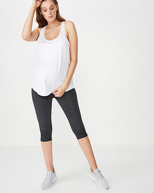Best maternity capris-over the belly tig