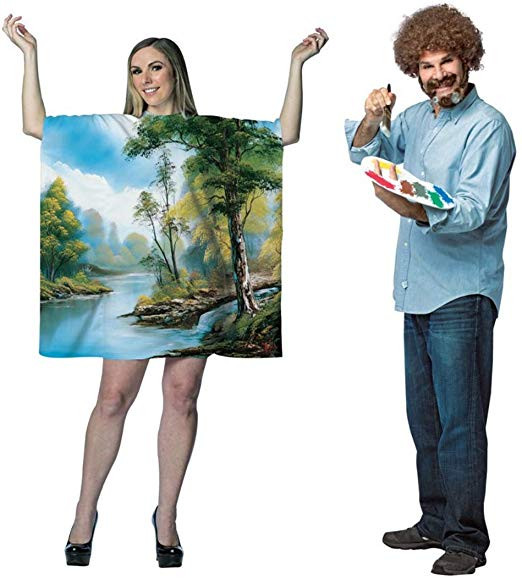 Unique Bob Ross Couples Costume