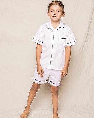 boys pajamas short set-classic boys shor