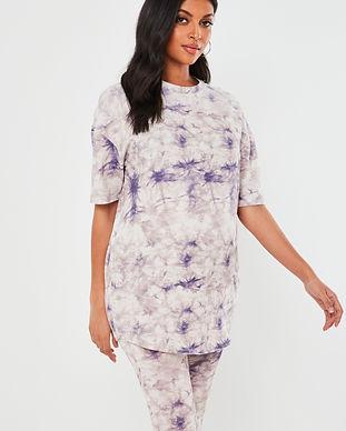 tie dye maternity t shirt-trending tie d
