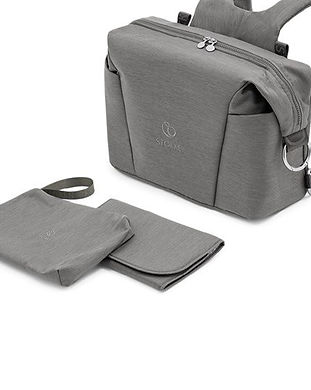changing diaper bag for men-grey diaper