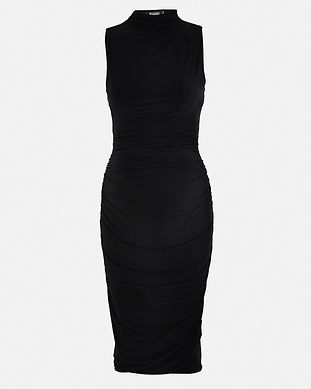 black maternity dress-sexy-stylish-eveni