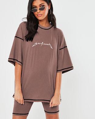 baby momma maternity tshirt-trending mat