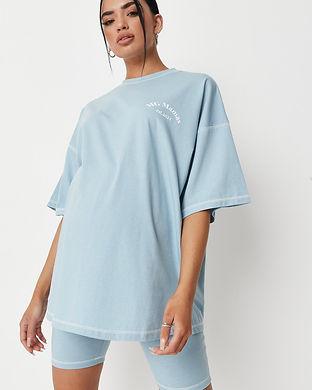 blue maternity tshirts-maternity trendy
