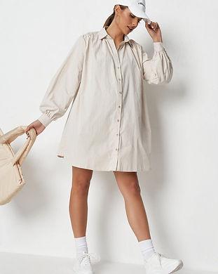 maternity shirt dress-maternity button u