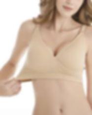 HOFISH Women's Maternity Seamless Wirele