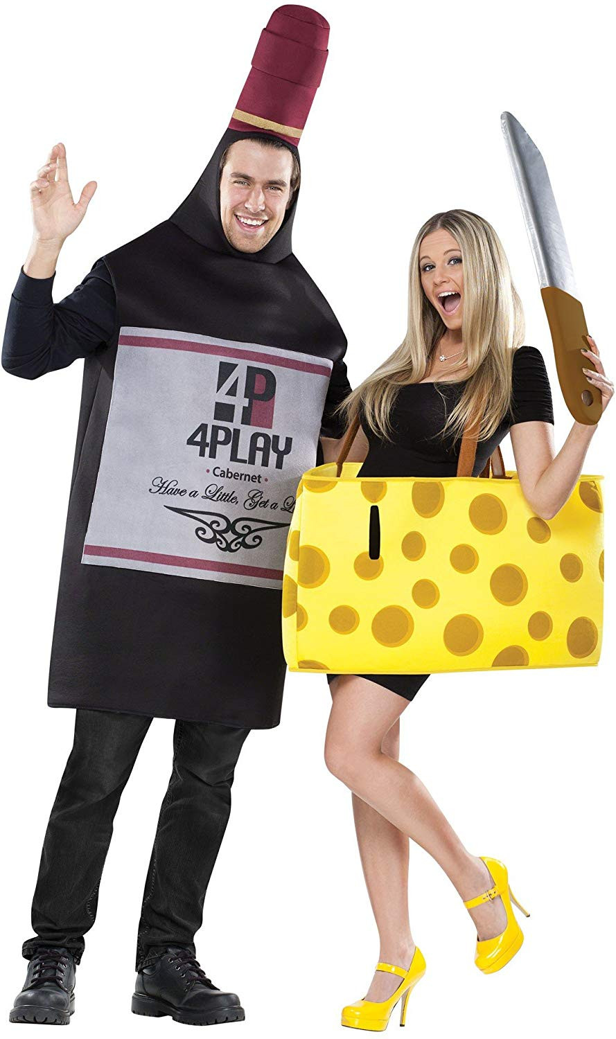 Funny Matching Couples Costume Set