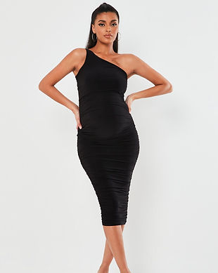 black sexy maternity dresses-black one s