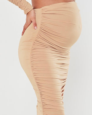 pink maternity skirt-pink maternity outf