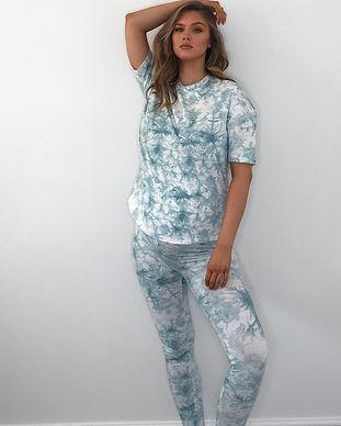 tie dye maternity leggings-trending tie