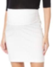 short maternity skirt-white-grey-black-M