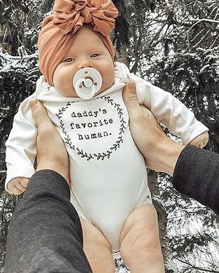 daddy newborn romper-daddys favorite-dad