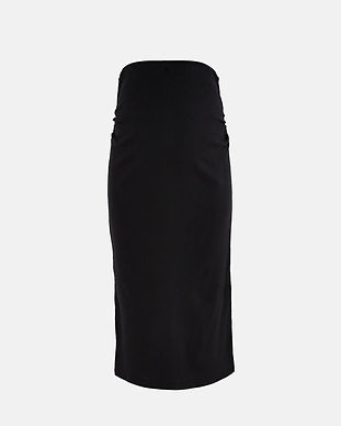 maternity pencil skirt-black maternity s