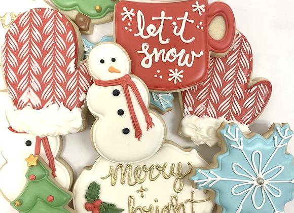 Decorated Sugar Cookies - 1 Dozen